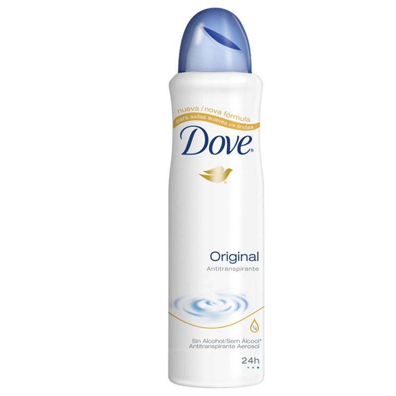 Foto 1 - Desodorante aerosol dove Original regular com 100 gramas