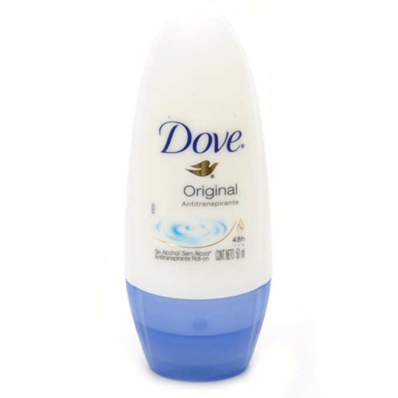 Foto 1 - Desodorante Dove Roll-On Antitranspirante Original 48 Horas sem Álcool 50ml