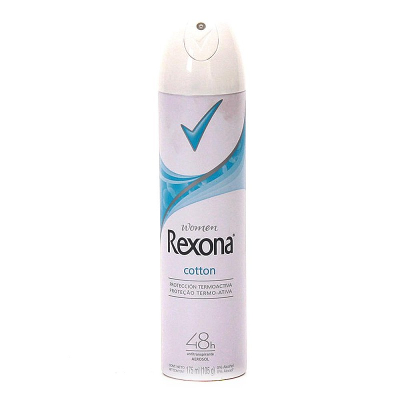 Foto 1 - Desodorante Rexona Aerosol Women Antitranspirante Cotton 48 Horas 150ml