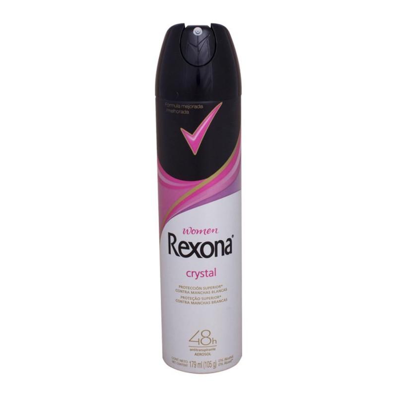 Foto 1 - Desodorante Rexona Aerosol Women Antitranspirante Crystal 48 Horas 175ml