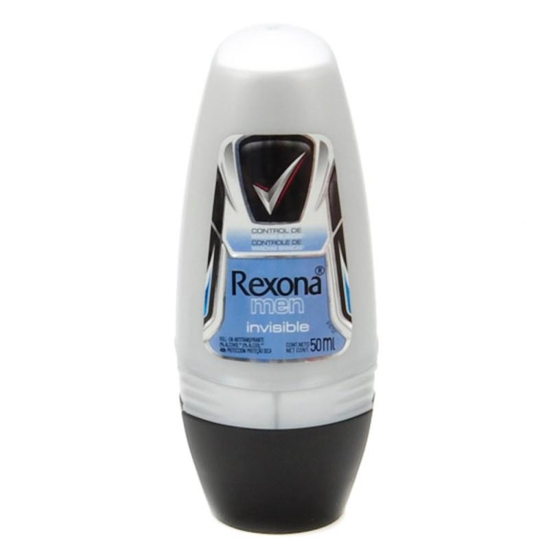 Foto 1 - Desodorante Rexona Roll-On Men Antitranspirante Invisible 24 Horas 50ml