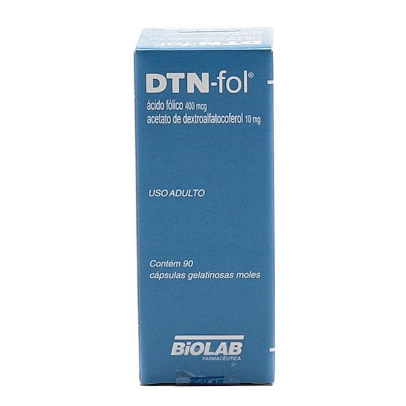 Foto 1 - Dtn-fol 400mcg/ 10 mg com 90 cápsulas