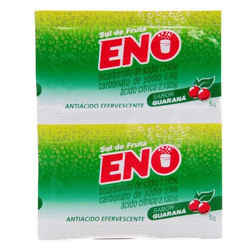 Foto 1 - Sal de fruta eno guaraná com 2 envelopes de 5 gramas