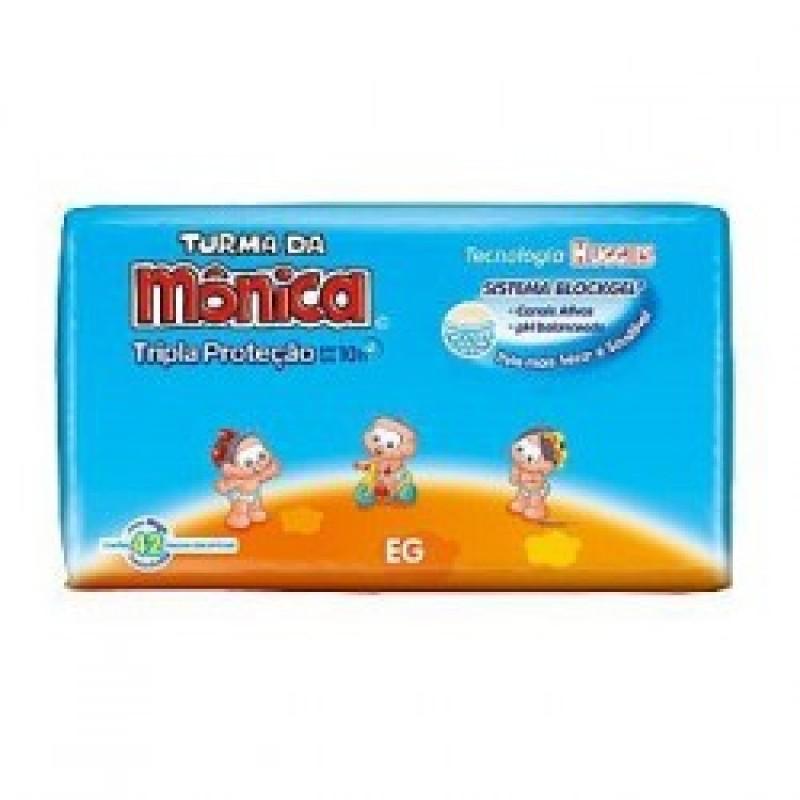 Foto 1 - Fralda Turma da Monica Mega Extra Grande com 42 Unidades