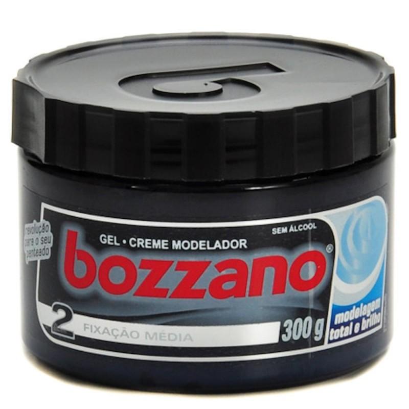 Foto 1 - Gel Bozzano Modelagem Total Fixação Média sem Álcool com 300g