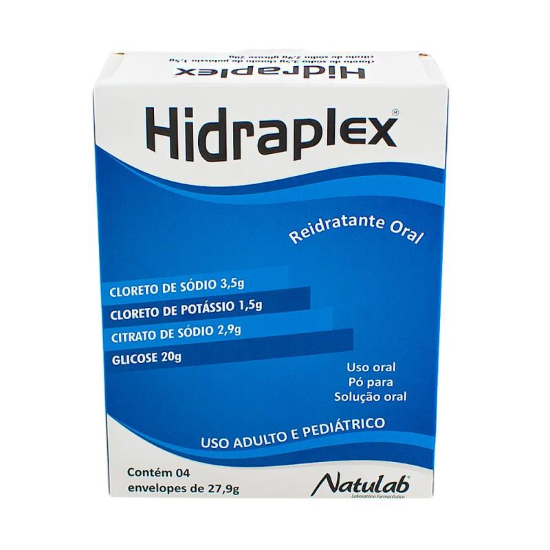 Foto 1 - Hidraplex Reidratante Oral em Pó c/4 Sachês