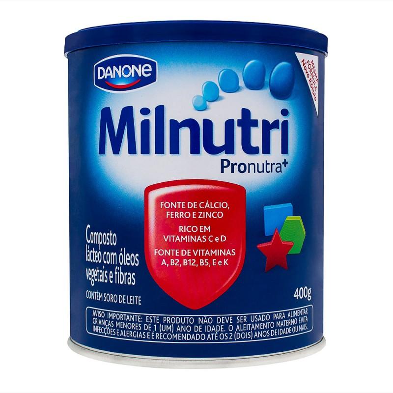 Foto 1 - Milnutri Danone Composto Lácteo c/400gr