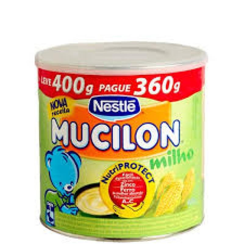 Foto 1 - Mucilon Milho 400 gramas