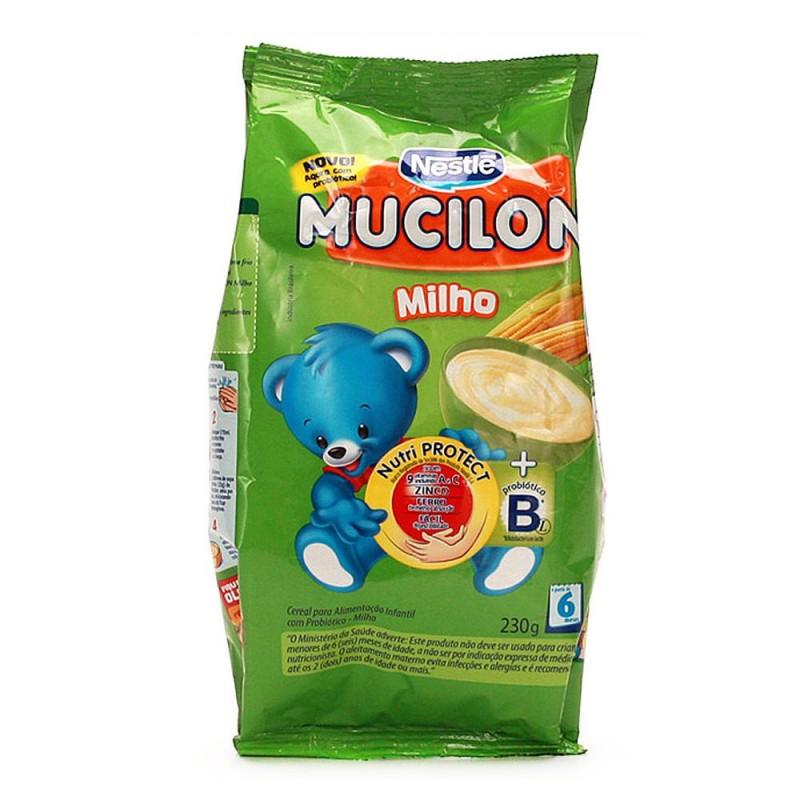 Foto 1 - Mucilon Milho Sachet 230g