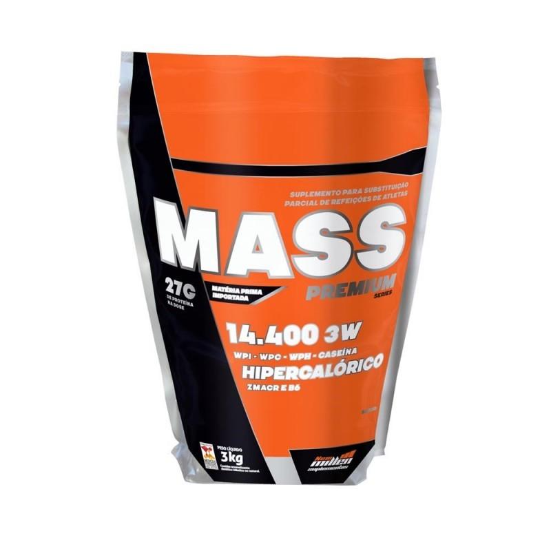 Foto 1 - Mass Premium Series 14.400 Baunilha c/3kg