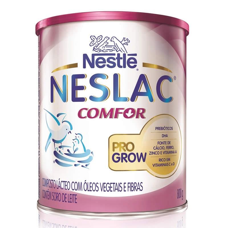 Foto 1 - Neslac Comfor Pro Grow c/800gr