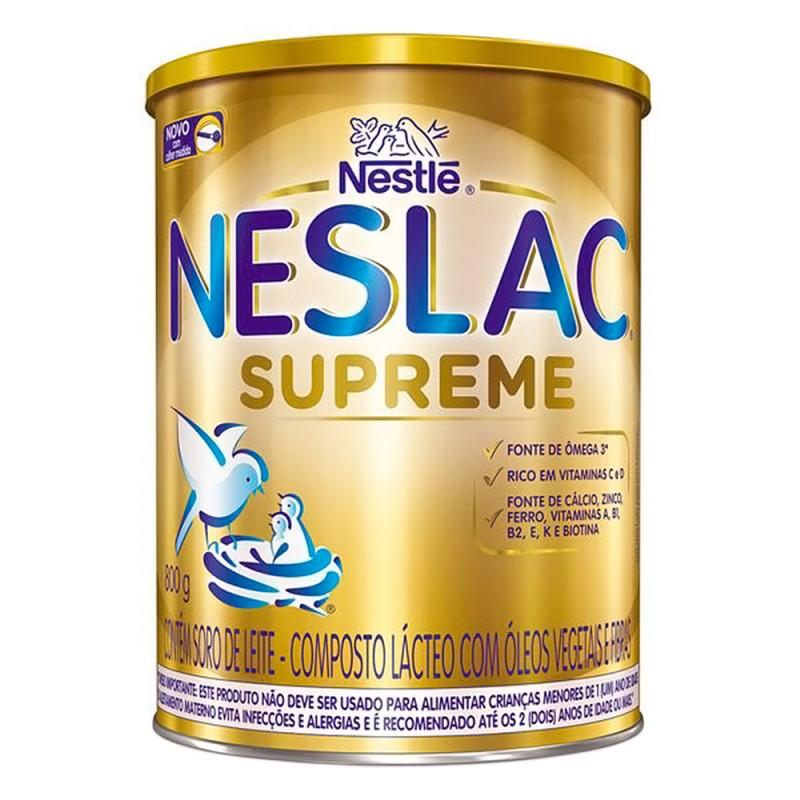 Foto 1 - Neslac Supreme c/800gr