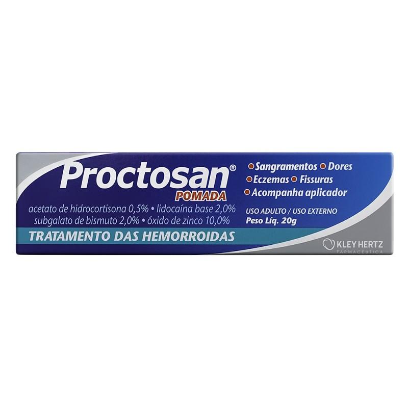 Foto 1 - Proctosan Pomada c/20gr e 1 Aplicador
