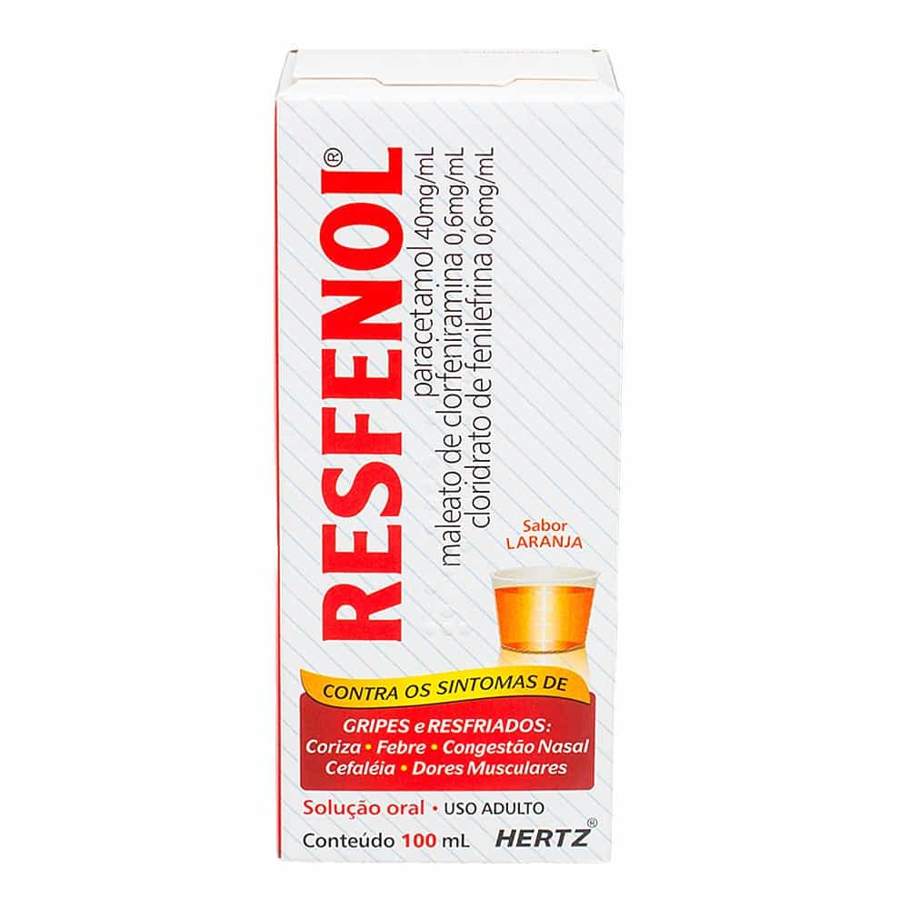 Foto 1 - Resfenol Solução Oral c/100ml