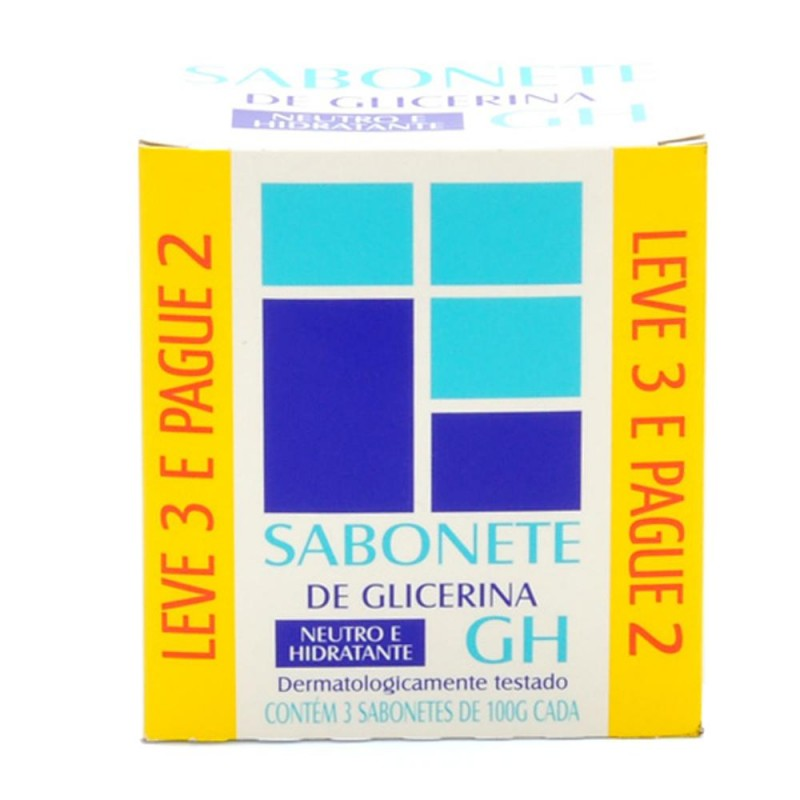 Foto 1 - Sabonete GH Glicerina 100g Leve 3 Pague 2