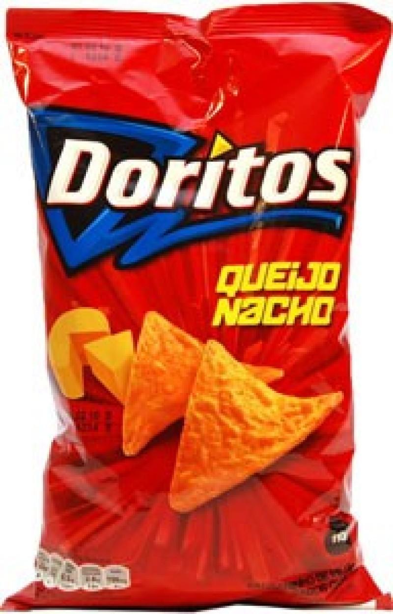 Foto 1 - Doritos Elma Chips Queijo Nacho 110g