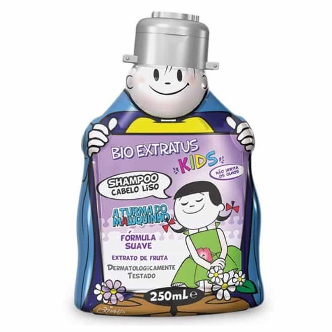 Foto 1 - Shampoo Bioextratus Kids Cabelo Liso 250ml