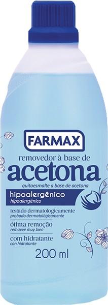 Foto 1 - Acetona Farmax 200ml