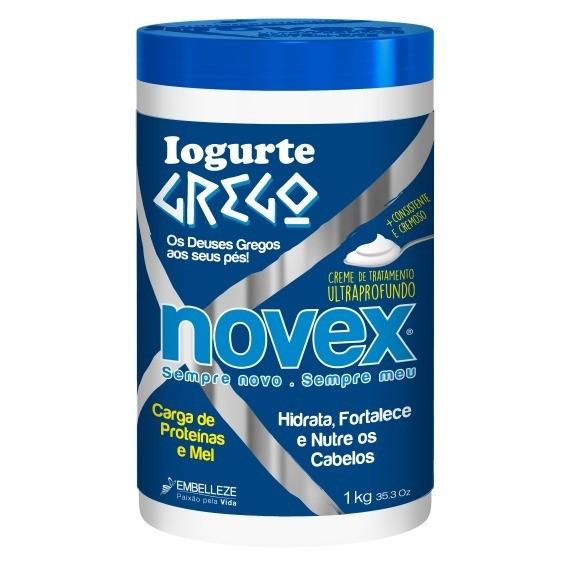 Foto 1 - Creme de Tratamento Novex Iogurte Grego 1kg