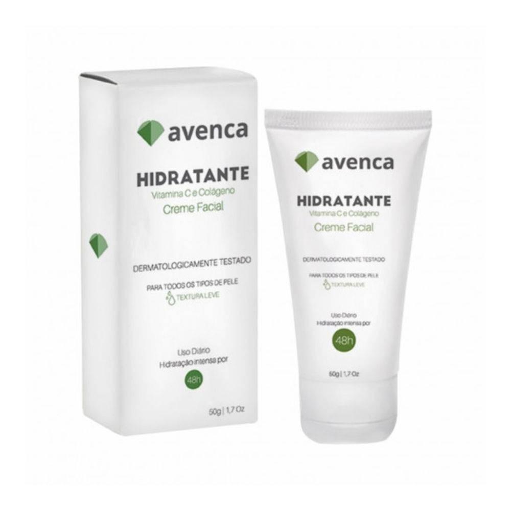 Imagem do produto Creme Hidratante Facial Avenca com 50g