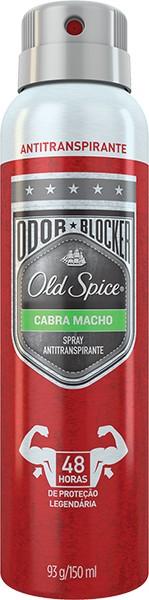 Foto 1 - Desodorante Aerosol Old Spice Cabra Macho 150ml