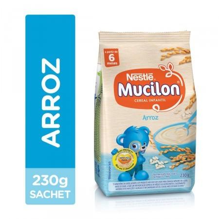 Foto 1 - Mucilon Arroz Cereal Infantil Sachê com 230g
