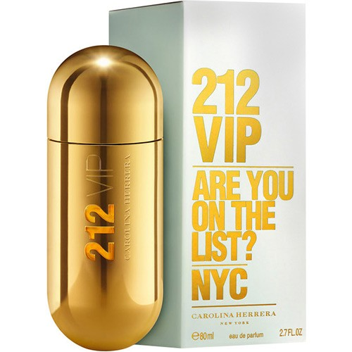 Foto 1 - Perfume 212 VIP Feminino Carolina Herrera Eau De Parfum 80mL