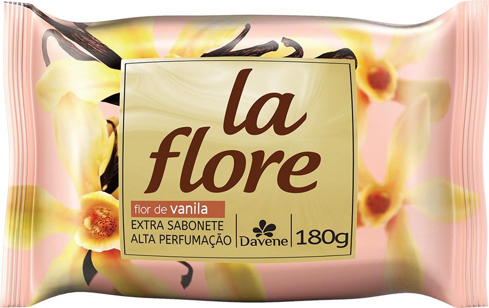 Imagem do produto Sabonete Davene La Flore Flor Vanila com 180g
