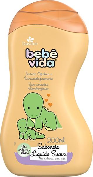 Foto 1 - Sabonete Líquido Bebê Vida Suave com 200ml