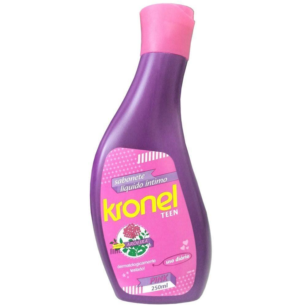 Foto 1 - Sabonete Liquido Intimo Kronel Teen com 250ml