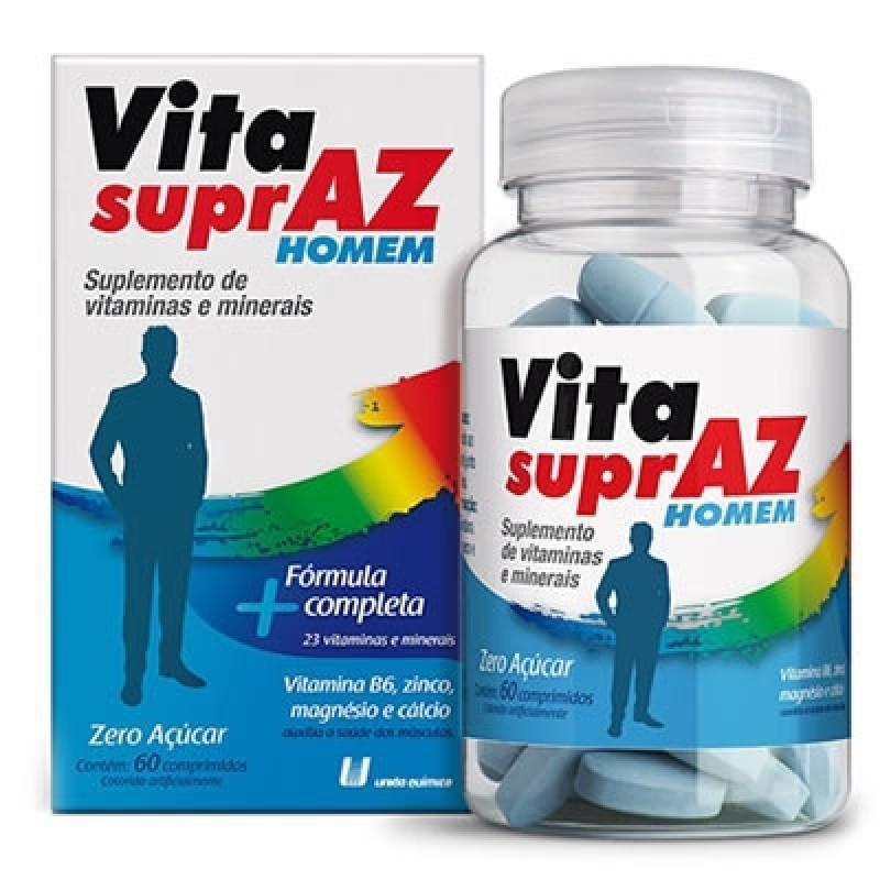 Foto 1 - Vita Supraz Homem com 60comprimidos