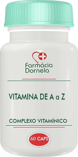 Foto 1 - Vitamina de A a Z 60 Cápsulas