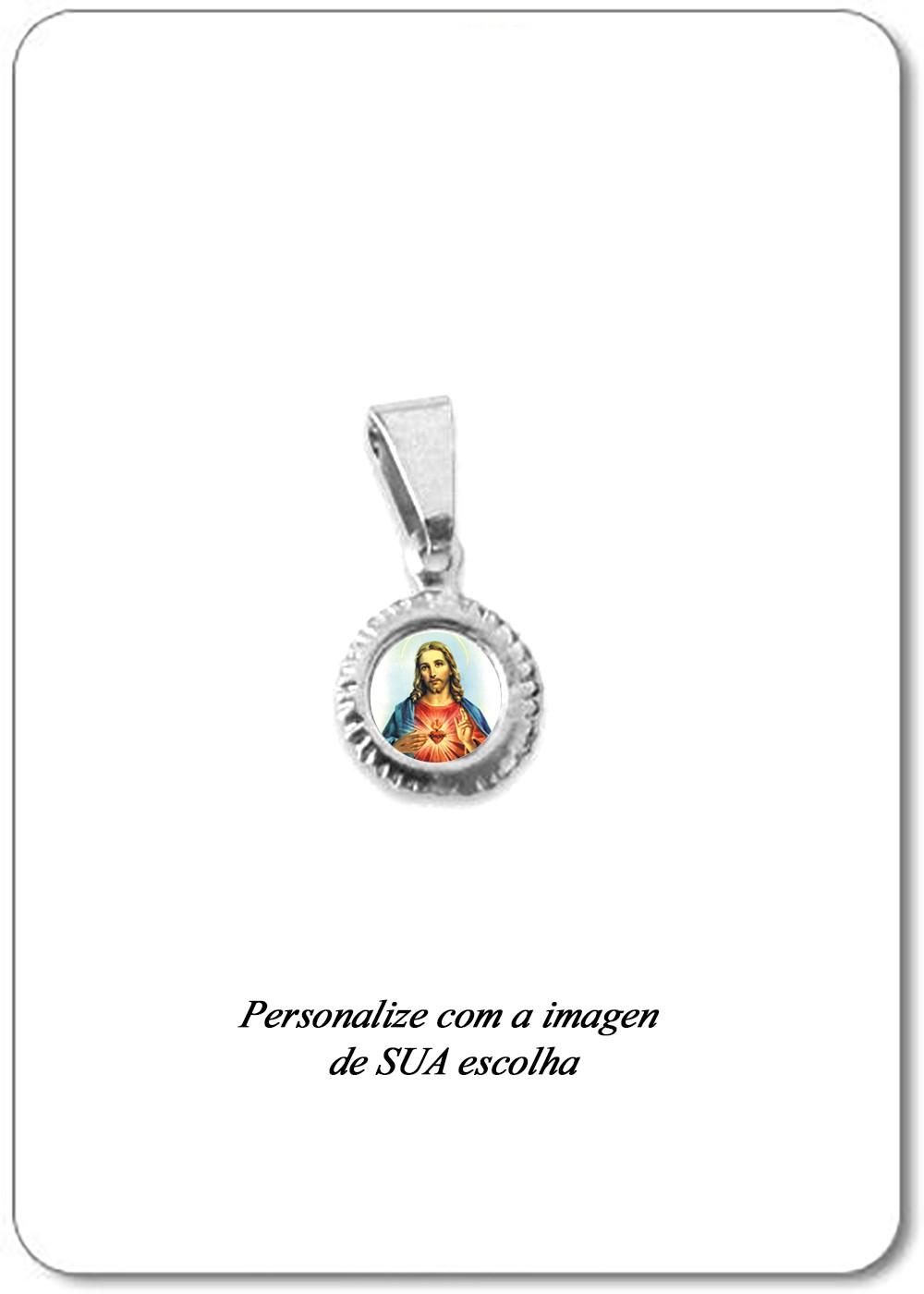 "Foto 1 - Item 148 - Medalha ""Reloginho Baby"""