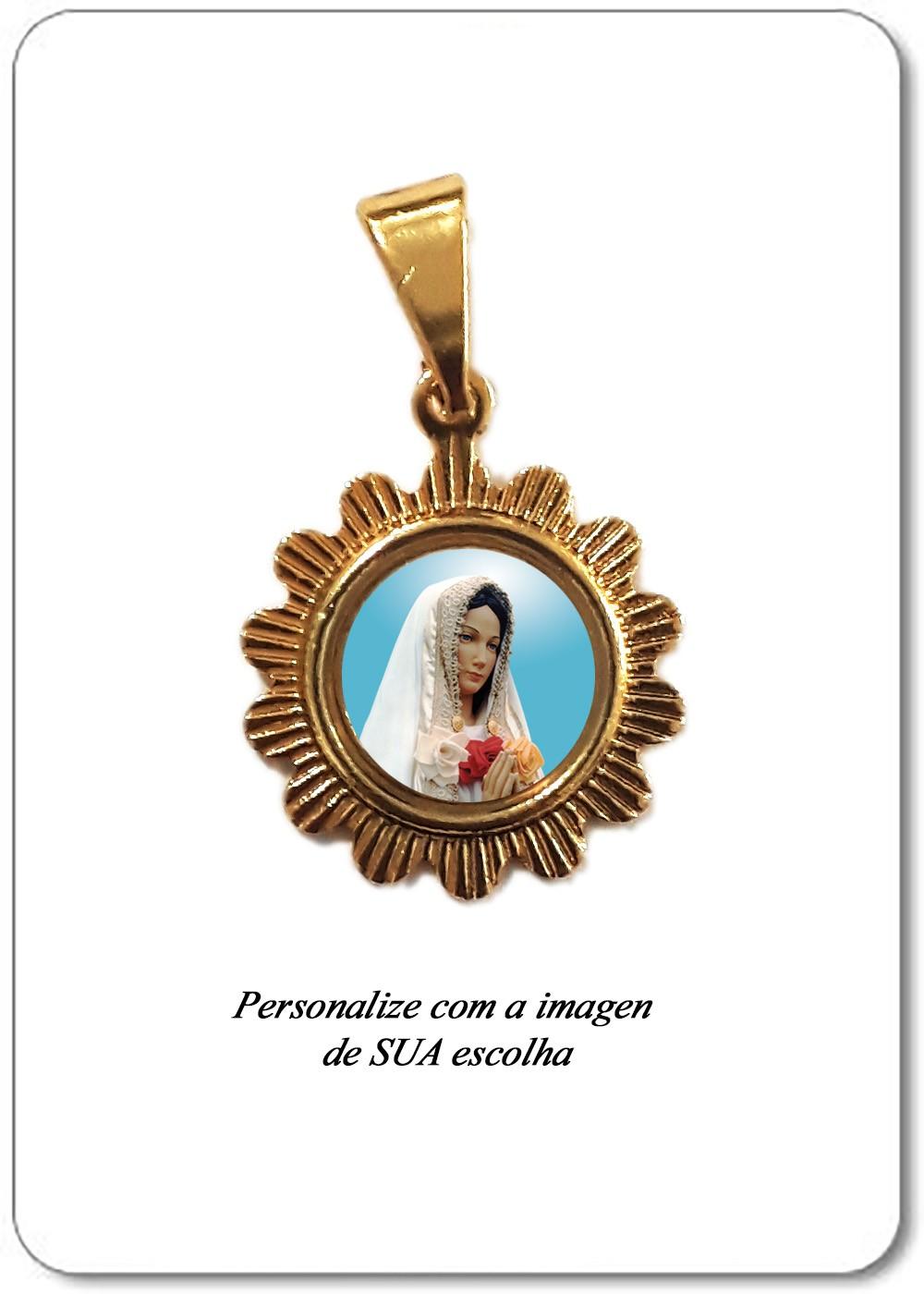 Foto 1 - Item 2031 - Medalha Sol