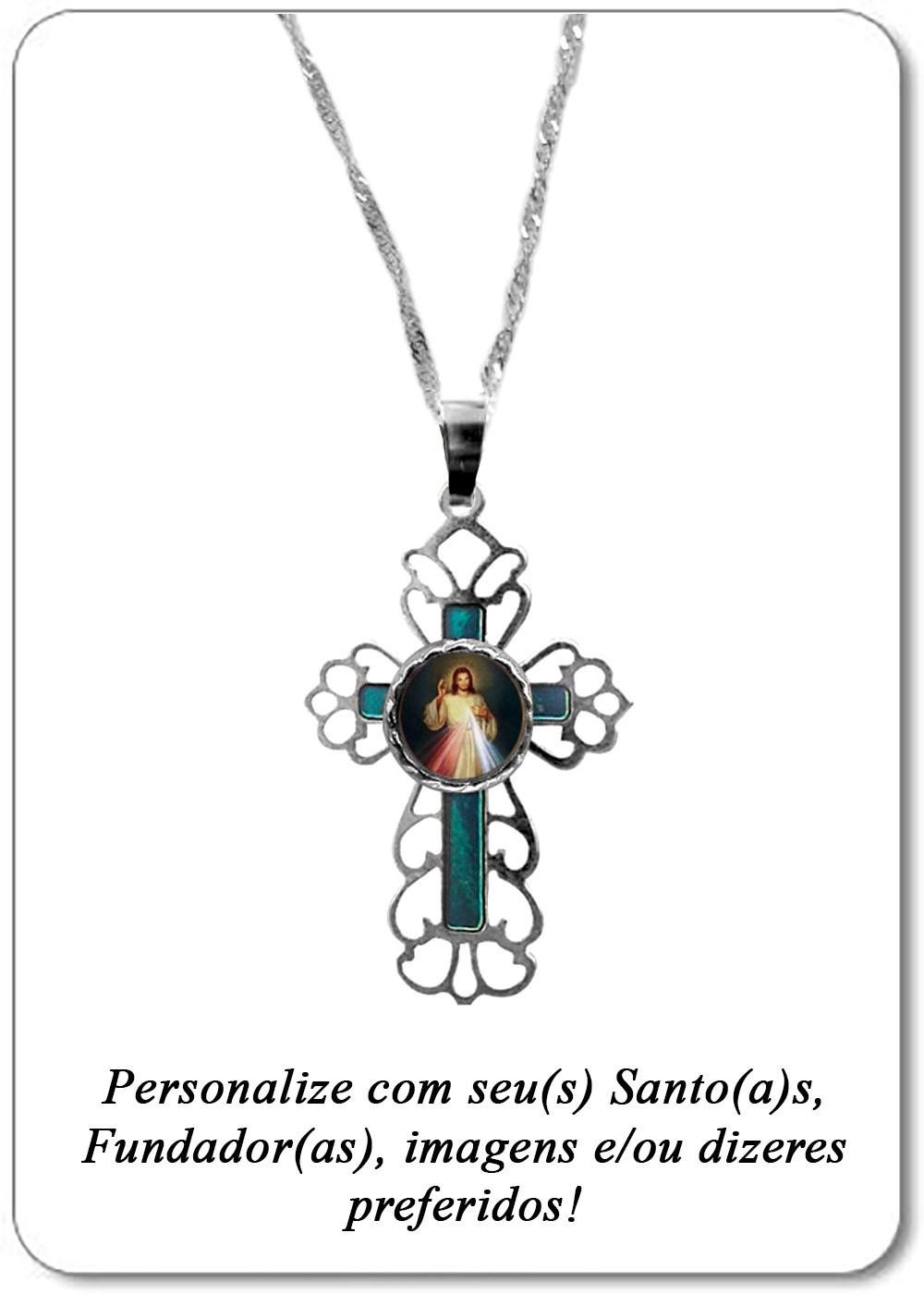 Foto 1 - Item 235 - Medalha Cruz Decorada