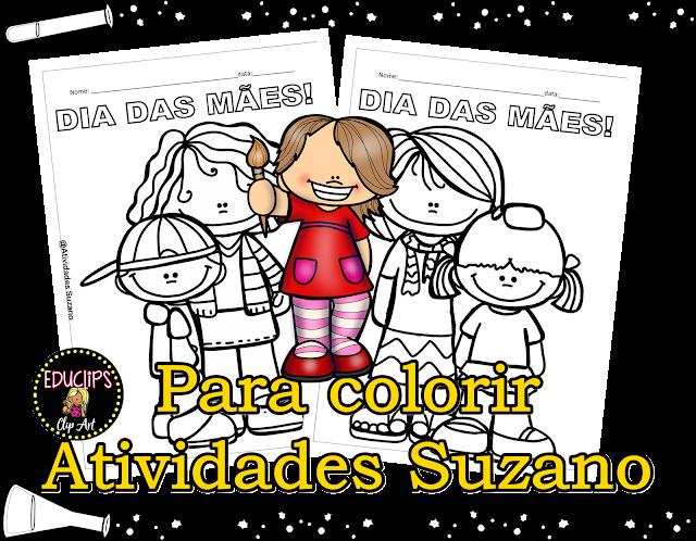 Para colorir Dia das mães