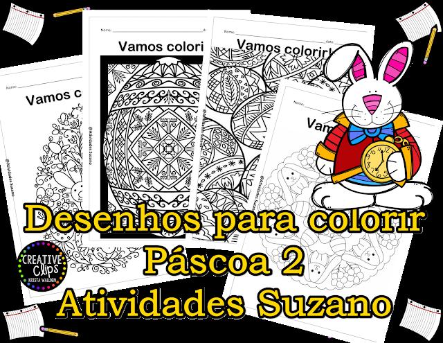 Páscoa para colorir 2