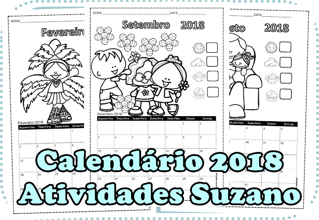 Calendário 2018 EM PDF
