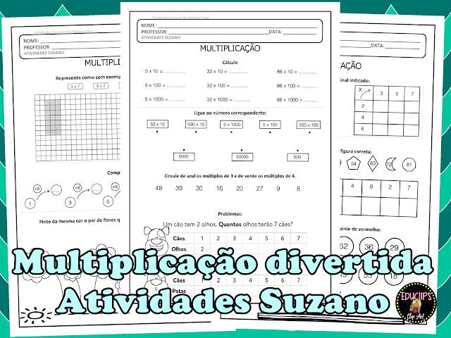 Multiplicação diversificada 5 EM PDF