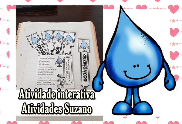 Atividade interativa: água