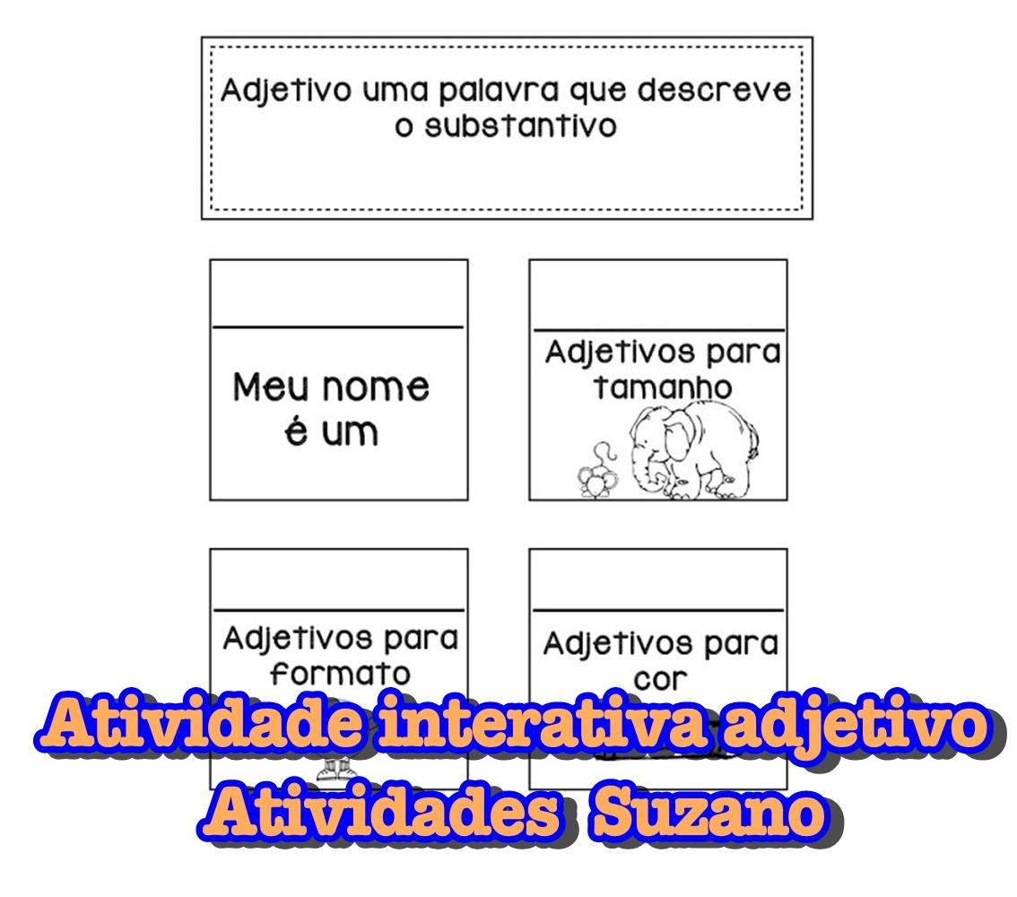 Atividade de Língua Portuguesa: Atividade interativa com adjetivos