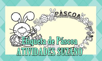 Atividades de Páscoa: etiquetas pimaco 4083