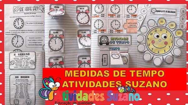 Medidas de tempo pack de atividades