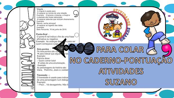 Atividades de Língua Portuguesa: Pontuação 6