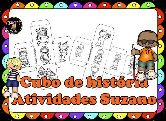 Cubo de história- produção de texto
