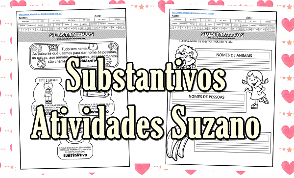 Atividades de Língua Portuguesa: Substantivos