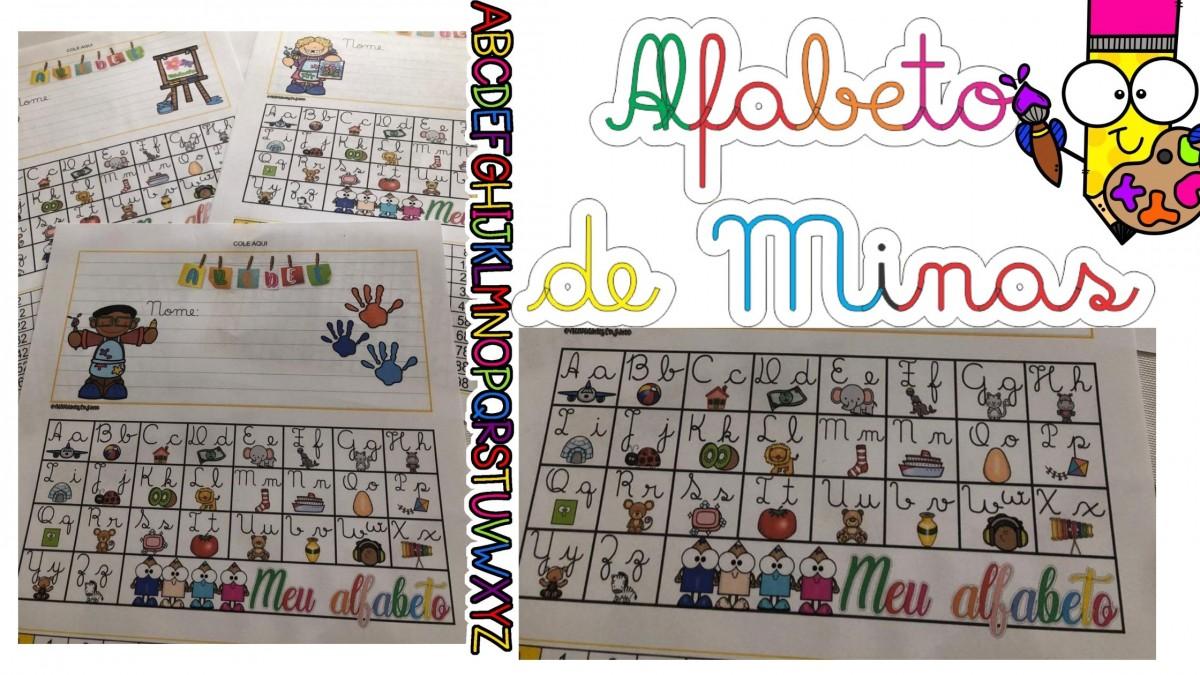 Imagem do produto Alfabeto colorido para imprimir Minas Gerais