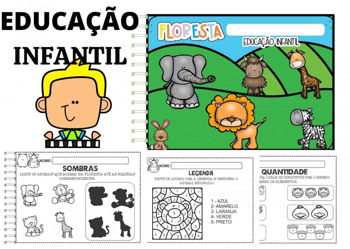 Imagem do produto Aprendendo com a Floresta - Educação Infantil