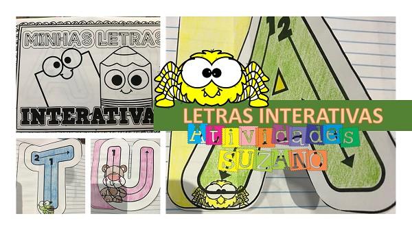 Imagem do produto Atividade de alfabetização: Letras interativas