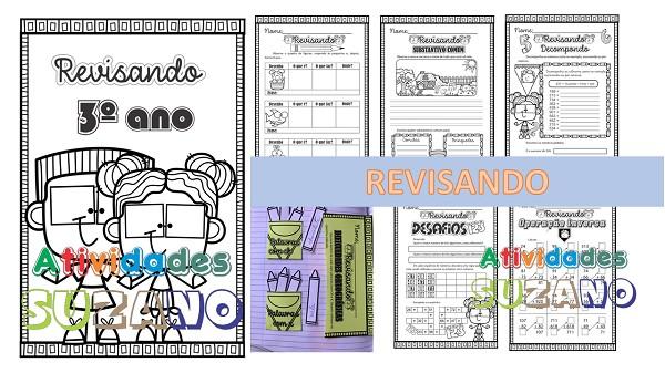 Imagem do produto Atividades 3º ano: Revisando Língua Portuguesa/matemática